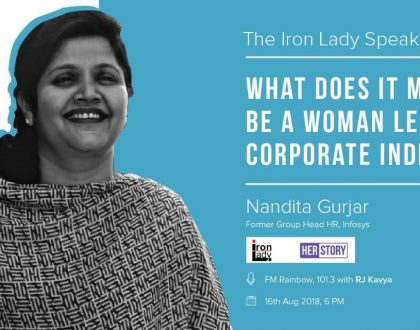 What does it mean to be a Woman leader in Corporate India